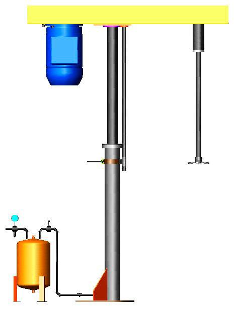Agitador para industria química