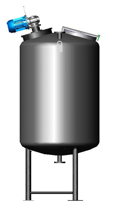 Agitadores industriais para tanques