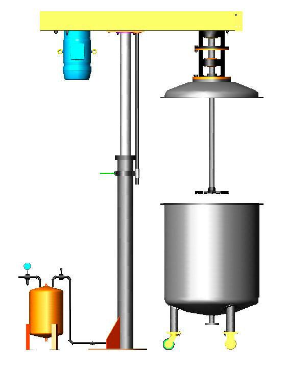 Fabricante de homogeneizador industrial