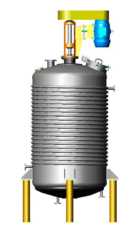 Fabricante de reatores químicos